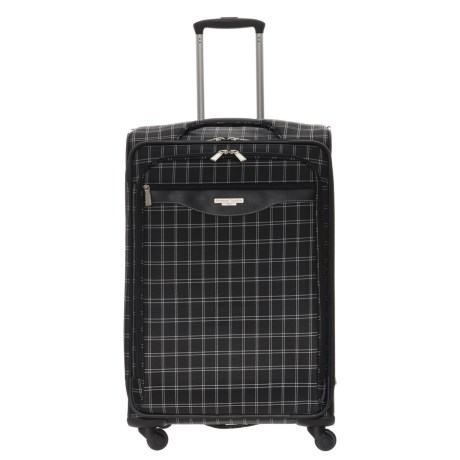 Image of 20? Fashion Plaid Spinner Carry-On Suitcase