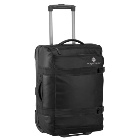 Image of 20? No Matter What Flatbed International Rolling Duffel Carry-On Suitcase
