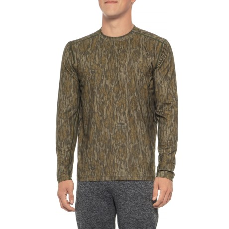 2.0 Stalker Base Layer Top - Long Sleeve (For Men) - MOSSY OAK BOTTOMLAND (L ) thumbnail