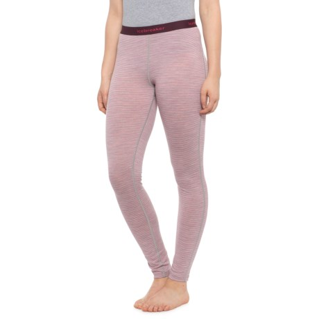 200 Oasis Base Layer Pants - Merino Wool (For Women) - BLIZZARD HEATHER/PRISM/STRIPE (S ) thumbnail