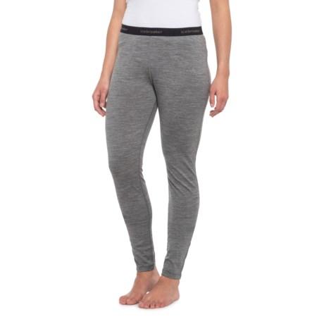 200 Oasis Base Layer Pants - Merino Wool (For Women) - GRIMSTONE (XL ) thumbnail
