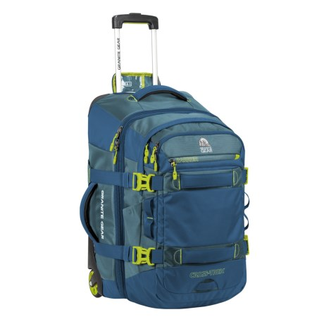 Image of 22? Cross-Trek Rolling Suitcase with Removable Backpack