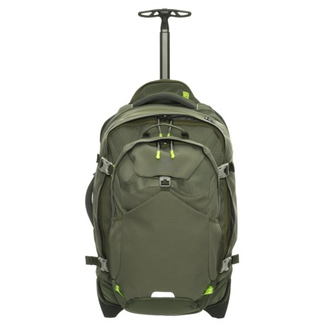 Image of 22? Doubleback Wheeled Carry-On Suitcase - Removable Daypack