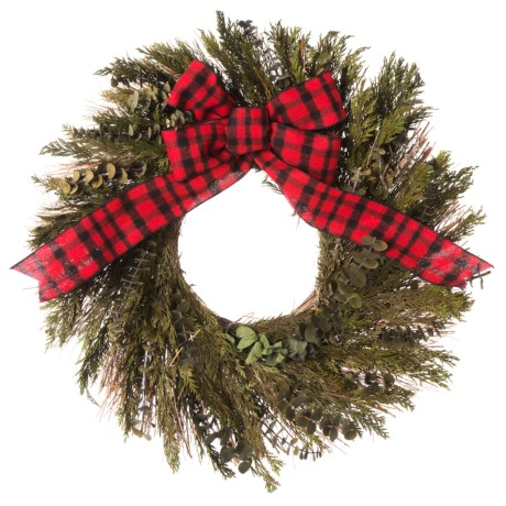 Image of 22? Preserved Cedar and Myrtle Wreath