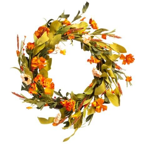 Image of 22? Velvet Flower Wreath