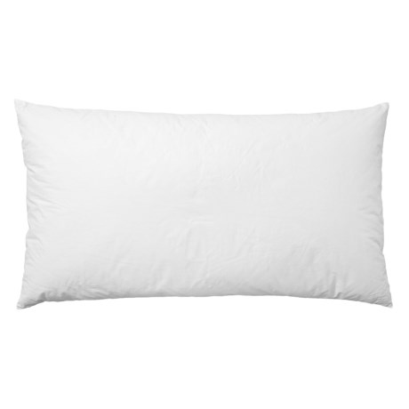Image of 233 White Natural Grey Duck Down Pillow - King, 233 TC