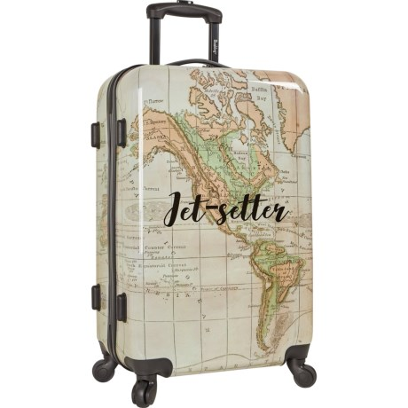 Image of 24? Live It Up Hardside Spinner Suitcase