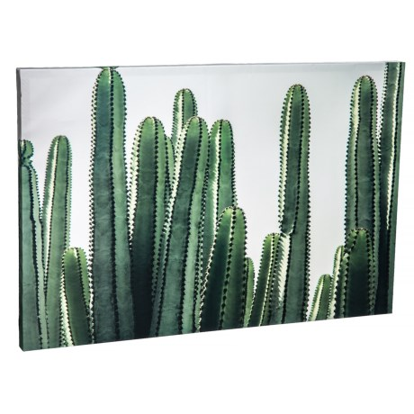 Image of 24x36? Contemporary Desert Cactus Botanical Wall Art