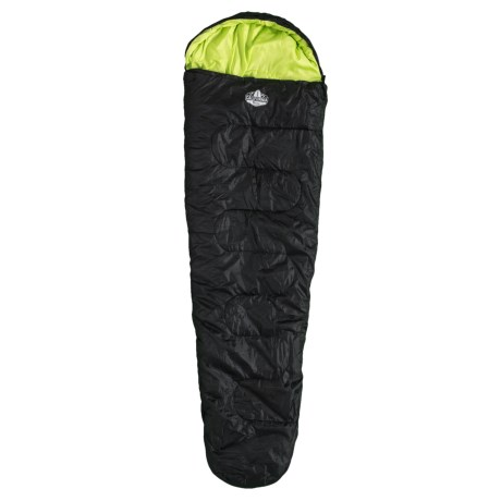 25°F 4-Season Sleeping Bag with Water-Resistant Shell - Mummy