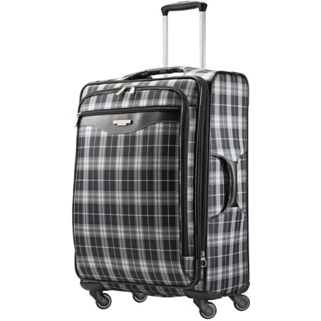 Image of 25? Plaid Fashion Spinner Suitcase