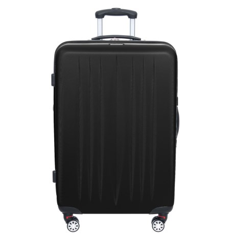 Image of 28? Dallas Checked Spinner Suitcase