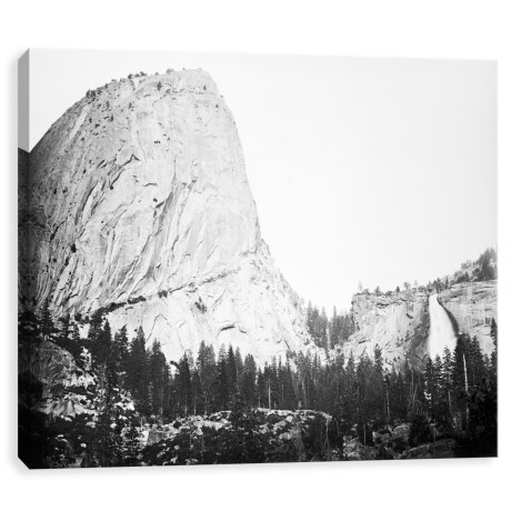 Image of 28x22? Bellows Butte and Nevada Fall Yosemite Printed Canvas