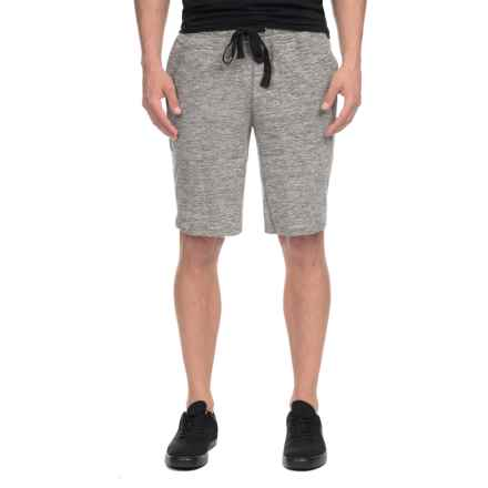 2(x)ist Active Comfort Shorts (For Men) in Light Grey Heather - Closeouts