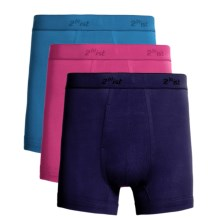 2(x)ist Boxer Briefs - 3-Pack (For Men) in Bright Turquoise/Cabaret/Black - Closeouts