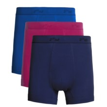 2(x)ist Boxer Briefs - 3-Pack (For Men) in Fuschia/Blue/Sky - Closeouts