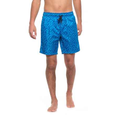 2(x)ist Catalina Flamingo Swim Trunks (For Men) in Blue - Closeouts