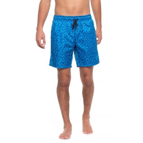 2(x)ist Catalina Flamingo Swim Trunks (For Men) in Blue