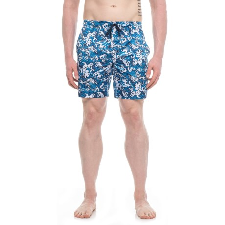 2(x)ist Catalina Wave Swim Trunks (For Men) in Blue