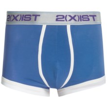 2(x)ist Colour No-Show Trunks - Underwear (For Men) in Brilliant Blue - Closeouts