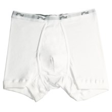 2(x)ist Fine Cotton Boxer Brief (For Men) in White - Closeouts