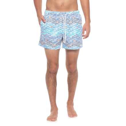 2(x)ist Malibu Sunglasses Swim Trunks - Built-In Briefs (For Men) in Blue - Closeouts