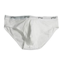 2(x)Ist No Show Brief (For Men) in White - Closeouts