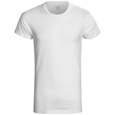 2(x)ist Pima Cotton T Shirt Slim Fit, Short Sleeve Crew Neck (For Men)