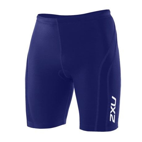 2XU Active Tri Shorts - UPF 50+ (For Men) in Black