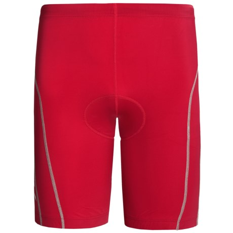 2XU Active Tri Shorts - UPF 50+ (For Men) in Venere Red/Grey