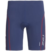 2XU Comp Tri Shorts (For Men) in Indigo/Venere Red - Closeouts