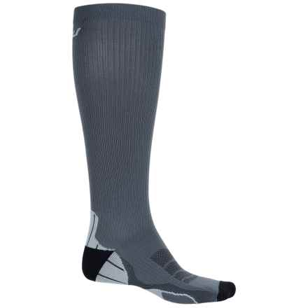 2XU Compression Socks for Recovery - Over the Calf (For Men) in Titanium/Black - Closeouts