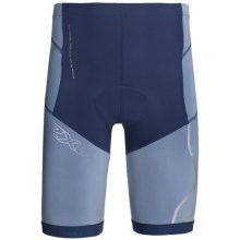 2XU Compression Tri Shorts (For Men) in Indigo/Cloudy Blue - Closeouts