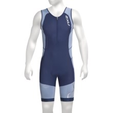 2XU Compression Tri Suit (For Men) in Indigo/Cloudy Blue - Closeouts