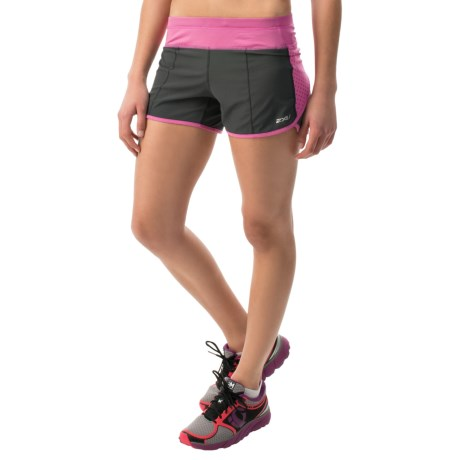 2XU Cross Sport Shorts Built In Briefs (For Women)