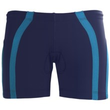 2XU Femme Hipster Tri Shorts (For Women) in Midnight Blue/Teal - Closeouts