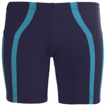 2XU Femme Tri Shorts (For Women) in Midnight Blue/Teal - Closeouts