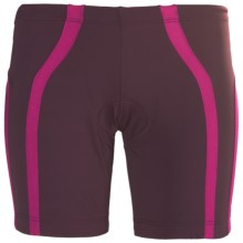 2XU Femme Tri Shorts (For Women) in Pomegranate/Blister Pink - Closeouts