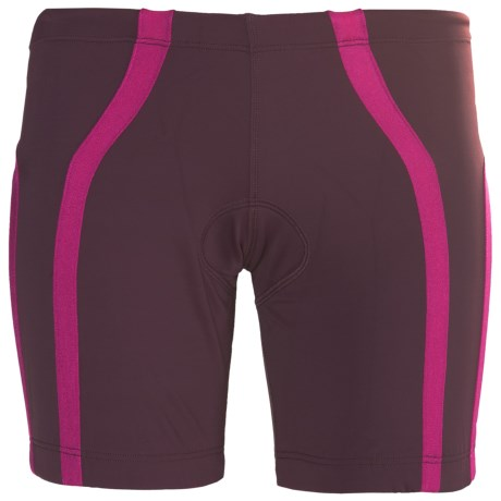 2XU Femme Tri Shorts (For Women) in Pomegranate/Blister Pink