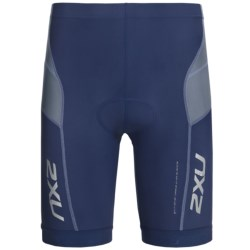 2XU Long Distance Tri Shorts (For Men) in Indigo/Steel