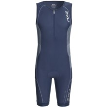 2XU Long Distance Tri Suit (For Men) in Indigo/Steel - Closeouts