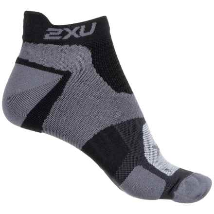 2XU Racing Vectr Socks - Below the Ankle (For Women) in Black/Black - Closeouts
