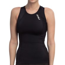 2XU Tri Singlet Top (For Women) in Blk/Blk Black/Black - Closeouts