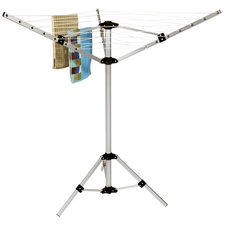 Image of 3-Arm Aluminum Rotary Airer