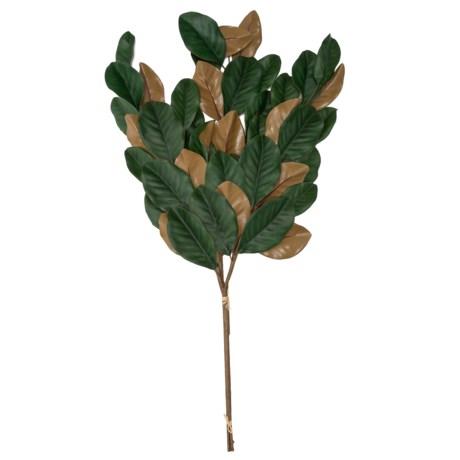 Image of 3-Stem Magnolia Leaf Arrangement - 37?