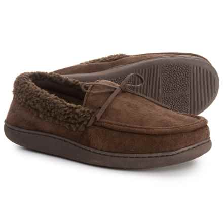 32 Degrees Bow Moccasins (For Men) in Brown - Closeouts