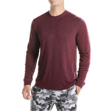32 Degrees Brushed Heat Sweatshirt (For Men) in Fig - Closeouts
