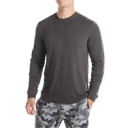 32 Degrees Brushed Heat Sweatshirt (For Men) in Heather Dark Charcoal - Closeouts