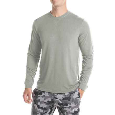 32 Degrees Brushed Heat Sweatshirt (For Men) in Heather Grey - Closeouts