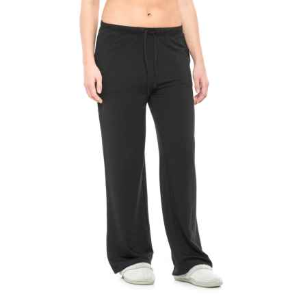 32 Degrees Brushed Lounge Pants (For Women) in Black - Closeouts