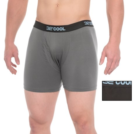 32 Degrees Cool Boxer Briefs - 2-Pack (For Men)